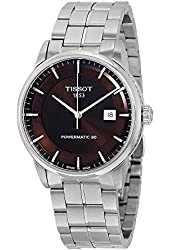 Tissot Men's 'Luxury' Swiss Quartz Stainless Steel Casual Watch, Color:Silver-Toned (Model: T0864071129100)