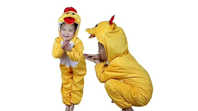 Kids Animal Costumes Boys Girls Pajamas Fancy Dress Outfit Cosplay Children Onesies (XL (for