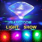 Bath Toys 7 Model Floating RGB Water Light Show, Decorative for Party/ Living Room/ Bathroom/ Bathtub/ Swimming Pool/ Bar