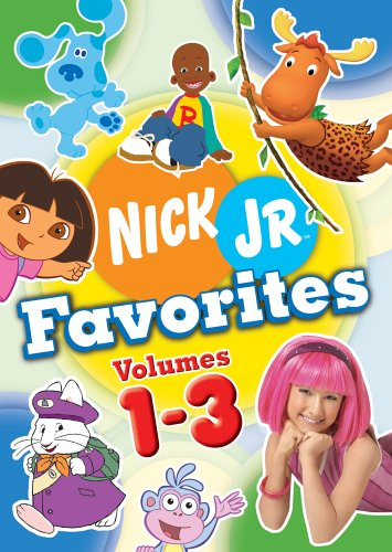 Nick Jr. Favorites Boxed Set (Vol. (Lazytown Nick Jr)