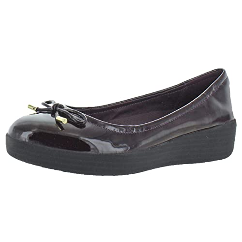 2dd2d97d9 Image Unavailable. Image not available for. Color  FitFlop Women s  Superbendy Ballerinas Leather Ballet Flats Shoes ...