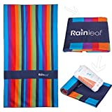 Best Rainbow Towel For Bath Beaches - Rainleaf Microfiber Rainbow Towel. Perfect Beach & Travel Review
