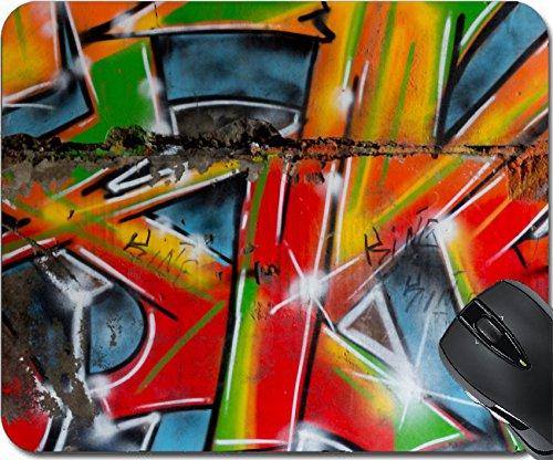 MSD Mousepad Mouse Pads/Mat design 24868654 unusual beauty bright street art