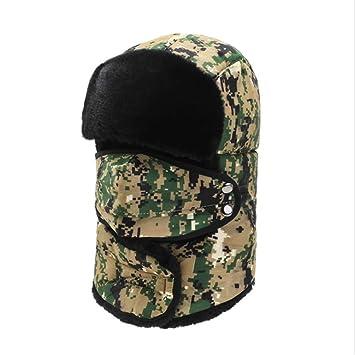 Sombrero de esquí de soldado de invierno Camuflaje Caza ...
