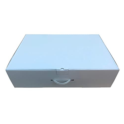 Extra large strong wedding dress storage box.77x51x20cm With 40 Large sheets of acid free