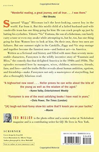 Funnymen A Novel Ted Heller 9780743235006 Amazon Books