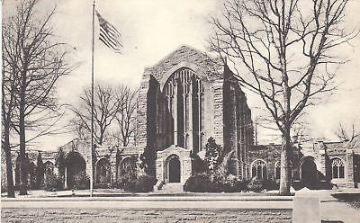 (G3949 PA, Valley Forge Washington Memorial Chapel Postcard)