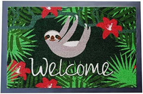 Trendstern Trendprodukteshop Doormat Sloth Welcome Doormat