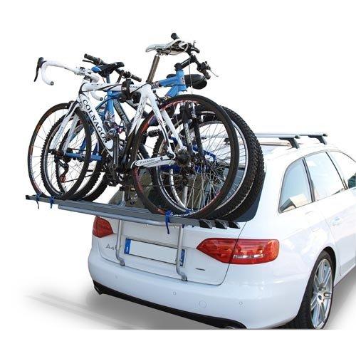 Logic Fahrrad Hecktr/äger f/ür 2 R/äder Fahrradtr/äger 3505/_a T/ÜV//GS