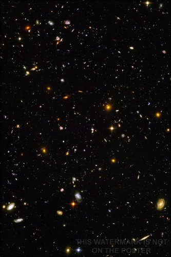 "Hubble Ultra Deep Field - 24""x36"" Poster"