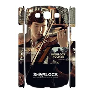 linfenglin Sherlock Customized Hard 3D Case For Samsung Galaxy S3 I9300