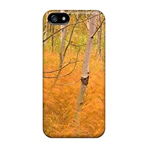 For Iphone Cases, High Quality Golden Autumn 4 For Iphone 5/5s Covers Cases
