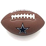 Jarden Sports Licensing Official National Football League Fan Shop Authentic NFL AIR IT Out Youth Football. Great for Pick up Game with The Kids. (Dallas Cowboys)