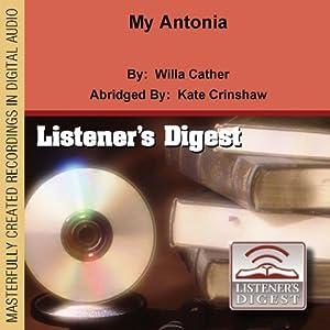 My Antonia Audiobook