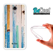 Ulefone Power 2 Cover Gel Flexible, TPU Case made out of the best Silicone, protects and adapts flawlessly to your Smartphone, together with our exclusive designs Becool Premium®. Seaside Wood.