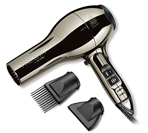 Andis Pro Dry+ Tourmaline Ionic Ceramic Hair Dryer, 1875 Watts (82365) (Pro Comp Distributors compare prices)