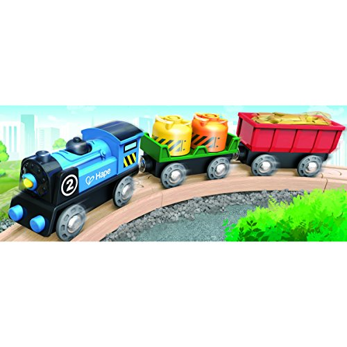 Railway Stock - Hape Railway Battery Powered Rolling-Stock Set