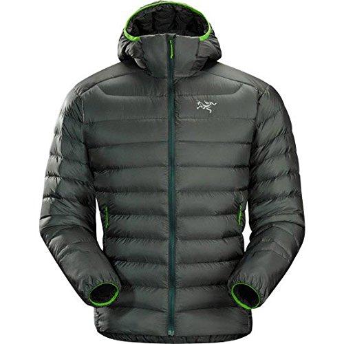 Arc'Teryx Men's Cerium LT Hooded Jacket, Nautical Grey, Small by Arc'teryx
