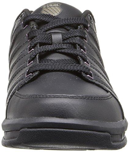 K-Swiss Berlo Sneaker,Black/Black,9