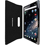 "Skinomi® TechSkin - Samsung Galaxy View Screen Protector 18.4"" + Carbon Fiber Full Body Skin with Lifetime Warranty / Front & Back Wrap Clear Film / Ultra HD and Anti-Bubble Invisible Shield"