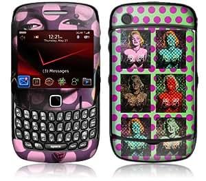 MusicSkins, MS-RONE70044, Ron English - Marilyn Warhol Style, BlackBerry Curve (8520/8530), Skin
