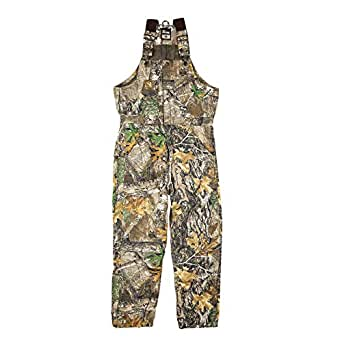 151317ad19d Amazon.com  Berne Men s Original Camouflage Insulated Bib  Overalls ...
