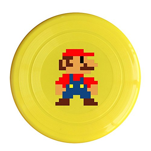 [SAXON13CAP New Design Mario Pixeles 150g Yellow Toy Flying Disc] (Costume Party Ideas For Couples)
