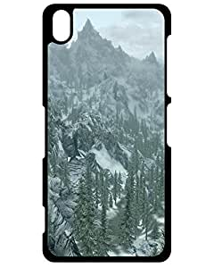 Snap-on Hard Case Cover Skyrim: On Top Of The World Sony Xperia Z3 Compact 2838523ZA433617896Z3MINI Teresa J. Hernandez's Shop