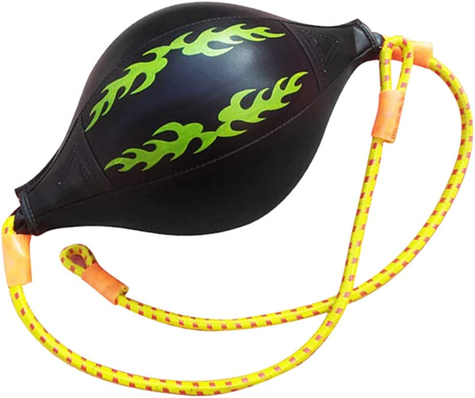 DIYARTS Boxeo Speed Bag Cuero De PU Muay Thai Training Punching Striking Bag Kit Colgante Giratorio Entrenamiento para Entrenamiento F/ísico O Lucha Deportiva
