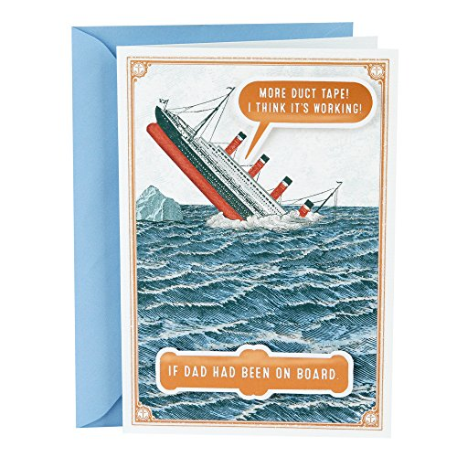 Humor Duct Tape - Hallmark Shoebox Funny Father's Day Card (More Duct Tape)