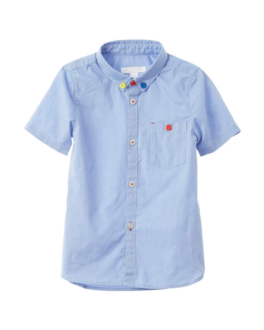 Burberry Boys Woven Shirt, 3Y, Blue