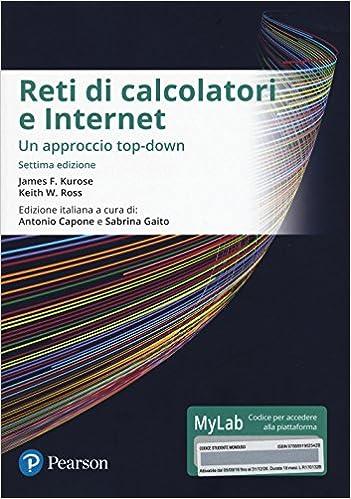 Reti di calcolatori e Internet - Un approccio top-down - Settima edizione