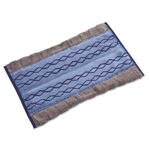 RCP1791795 HYGEN Dust/Wet Extra-Absorbent Microfiber Pad, 17 1/2w x 12d, Blue