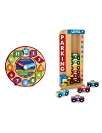 Melissa & Doug Shape Sorting Clock & Parking Garage Bundle BOBEBE Online Baby Store From New York to Miami and Los Angeles