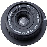 Holga 60mm f/8, Manual Focus Lens for Canon DSLR Camera