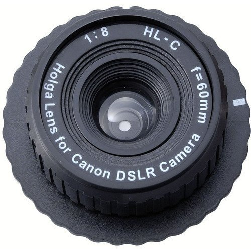 Holga 60mm f/8 Lens for Canon DSLR (Black)