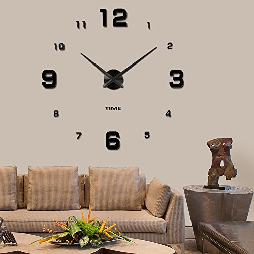 Wall Decorations For Office think outside the box motivational wall decor office decal text wall decal Vangold Modern Mute Diy Frameless Large Wall Clock 3d Mirror Sticker Big Watches Home Office Decorations 2 Year Warranty