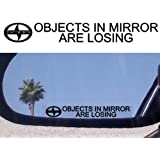 (2) Mirror Decals for SCION TC XA XB XD RS TURBO