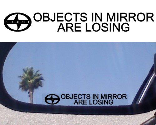 Scion Tc Turbo ((2) Mirror Decals for SCION TC XA XB XD RS TURBO)