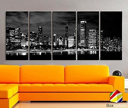 Xlarge 30x 70 5 panels 30x14 ea art canvas print