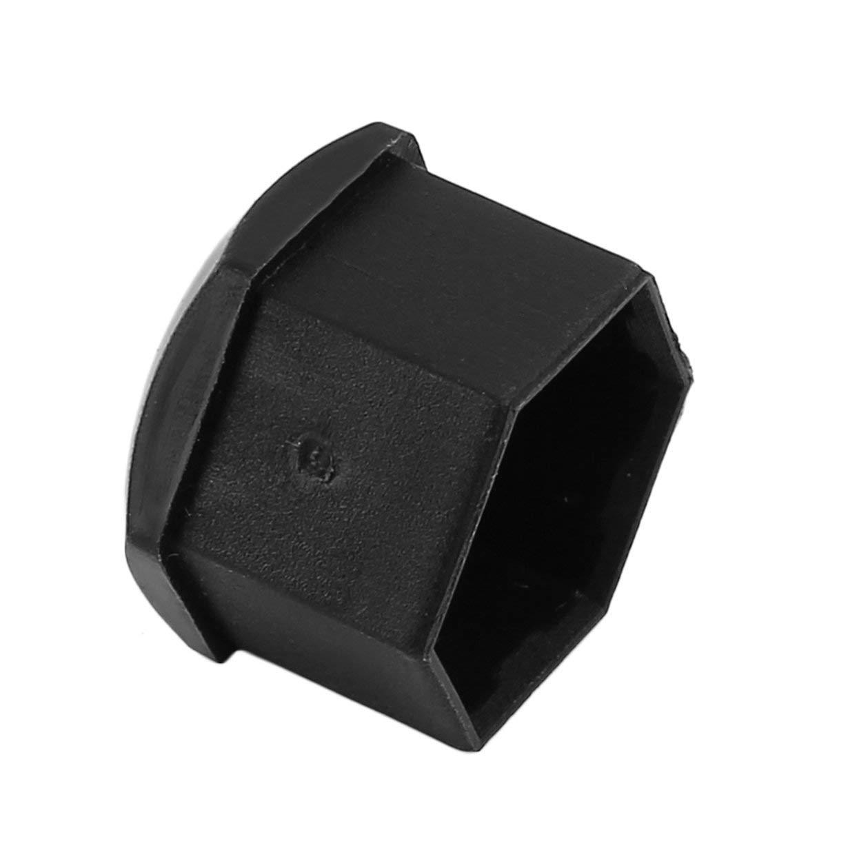 Comomingo 20PCS 17mm Special Socket Car Wheel Auto Hub Screw Cover Nut Caps Bolt Rims Exterior Decoration Protecting
