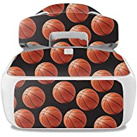 Skin For DJI Goggles – Basketball | MightySkins Protective, Durable, and Unique Vinyl Decal wrap cover | Easy To Apply, Remove, and Change Styles | Made in the USA