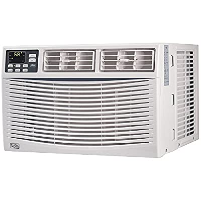 BLACK+DECKER BWAC10WT 10,000 BTU ENERGY STAR Electronic Window Air Conditioner with Remote