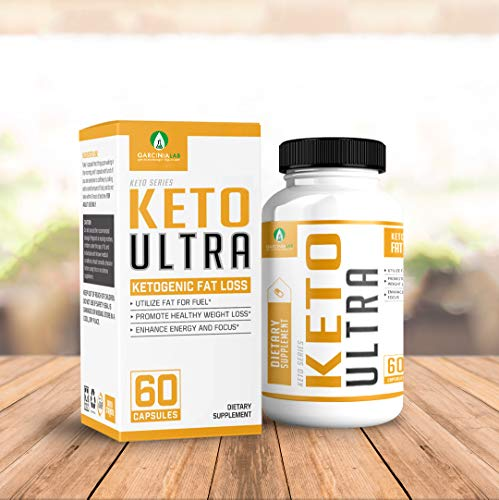 Keto Diet Supplement Fat Burner and Natural Weight Loss - Supports Healthy Weight Loss, Using Fat As Fuel Source and Mental Focus & Clarity USA Made Ketogenic Diet Supplement