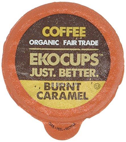 EKOCUPS Artisan Organic Caramel Recyclable