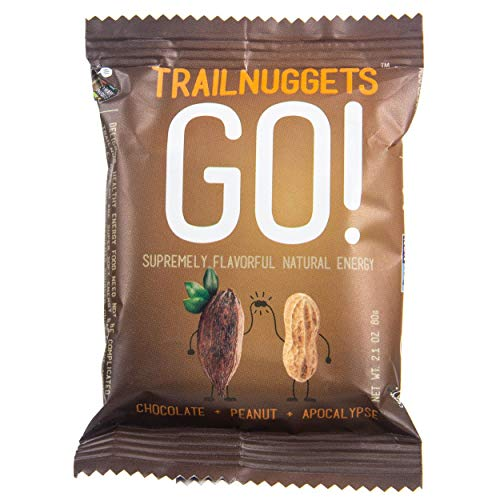 Trailnuggets Go Chocolate Peanut Energy and Endurance Bars (6 Pack)