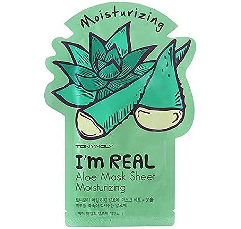 Tony Moly - Mascarilla aloe i am real: Amazon.es: Belleza