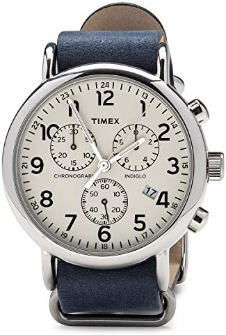 Timex TW2P62100 Men s Weekender Chrono Oversized Analog Display Quartz Watch