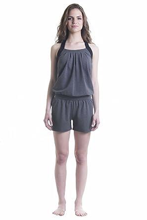9059cb7b13af4 Amazon.com: Women's Loose Yoga Romper: Clothing