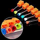 Nail Drill Bits, Alonea Nail Drill Bit For Electric Manicure Drills Machine Accessories Nail Tools (Random)